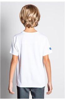 T-Shirt T-SHIRT INVADER Garçon W20157B (58088) - DEELUXE