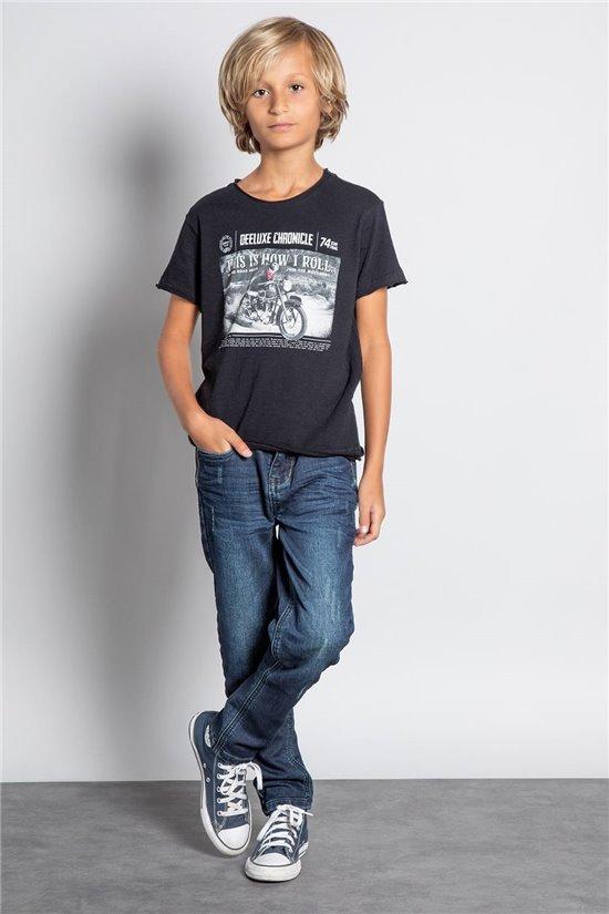T-Shirt T-SHIRT BREAKER Garçon W20119B (58090) - DEELUXE