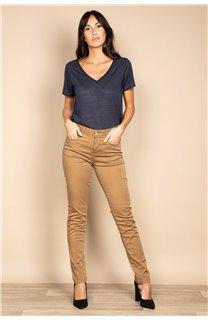 T-Shirt T-SHIRT ETHANY Femme W20109W (58224) - DEELUXE