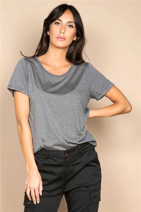 T-Shirt T-SHIRT RUBY Femme W20111W (58228) - DEELUXE