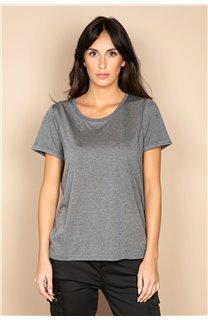 T-Shirt T-SHIRT RUBY Femme W20111W (58230) - DEELUXE