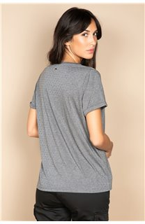 T-Shirt T-SHIRT RUBY Femme W20111W (58231) - DEELUXE
