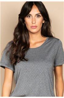 T-Shirt T-SHIRT RUBY Femme W20111W (58232) - DEELUXE