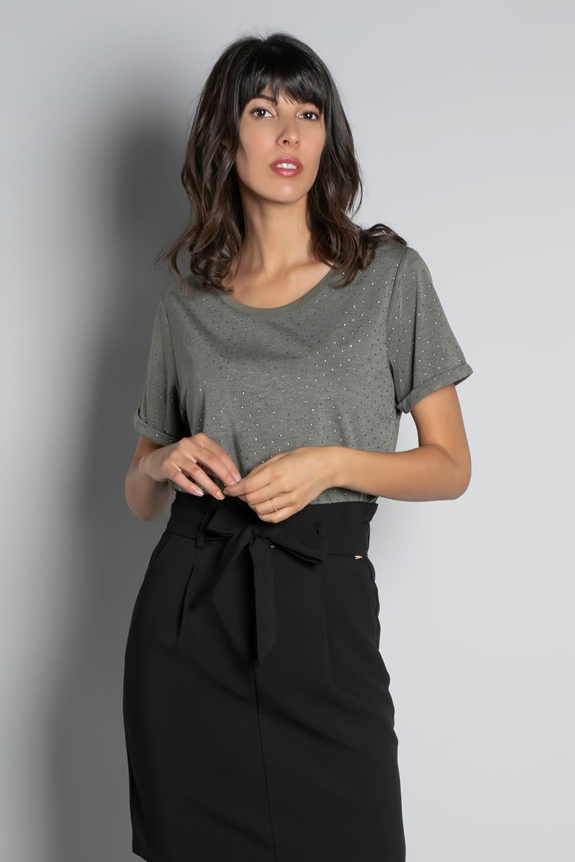 T-Shirt T-SHIRT RUBY Femme W20111W (58233) - DEELUXE