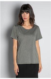T-Shirt T-SHIRT RUBY Femme W20111W (58235) - DEELUXE