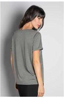 T-Shirt T-SHIRT RUBY Femme W20111W (58236) - DEELUXE