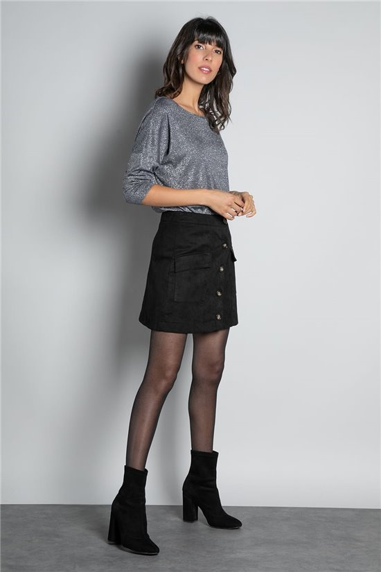 T-Shirt T-SHIRT LEANA Femme W20106W (58383) - DEELUXE