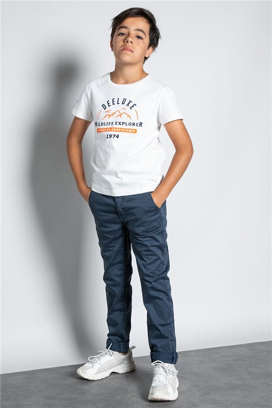 Pantalon PANTALON MILANO Garçon W207008B (58595) - DEELUXE
