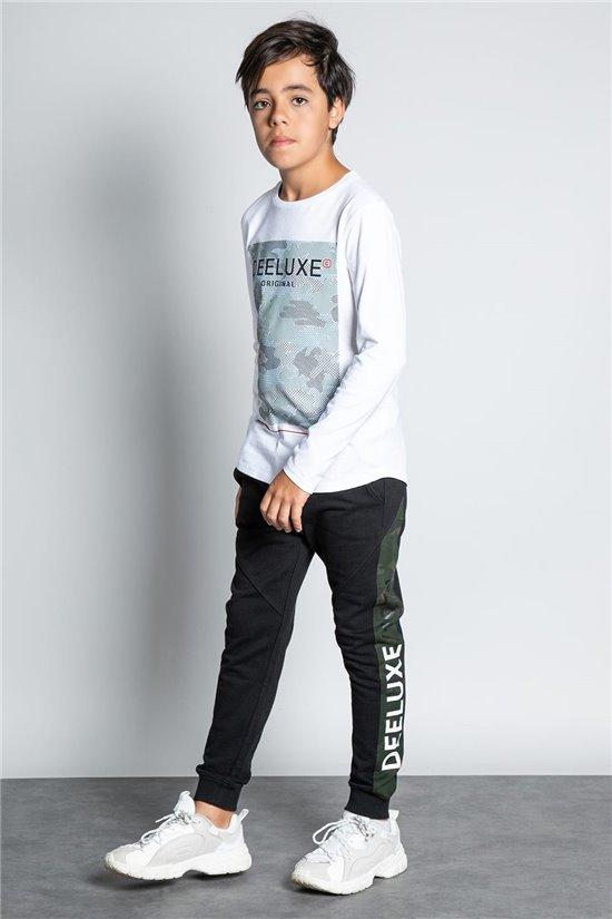 Pantalon JOGGING SAMOURAI Garçon W207101B (58600) - DEELUXE