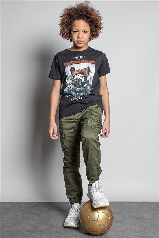 T-Shirt T-SHIRT BANDIDO Garçon W20144B (58634) - DEELUXE