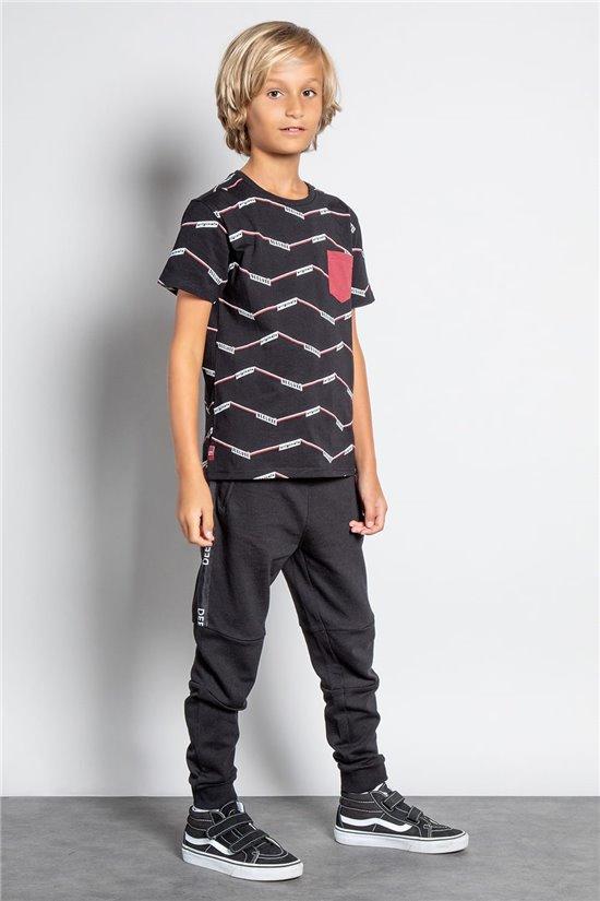 T-Shirt T-SHIRT KEEPER Garçon W20171B (58649) - DEELUXE