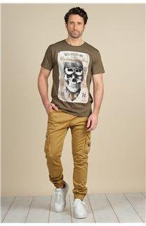 Pantalon Pantalon GARDEN Homme S217017M (58942) - DEELUXE