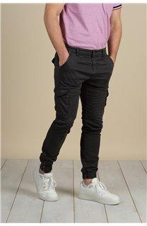 Pantalon Pantalon GARDEN Homme S217017M (58946) - DEELUXE