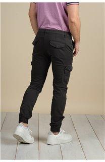 Pantalon Pantalon GARDEN Homme S217017M (58949) - DEELUXE