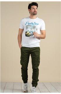 Pantalon Pantalon GARDEN Homme S217017M (58952) - DEELUXE
