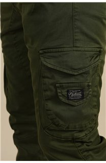 Pantalon Pantalon GARDEN Homme S217017M (58955) - DEELUXE
