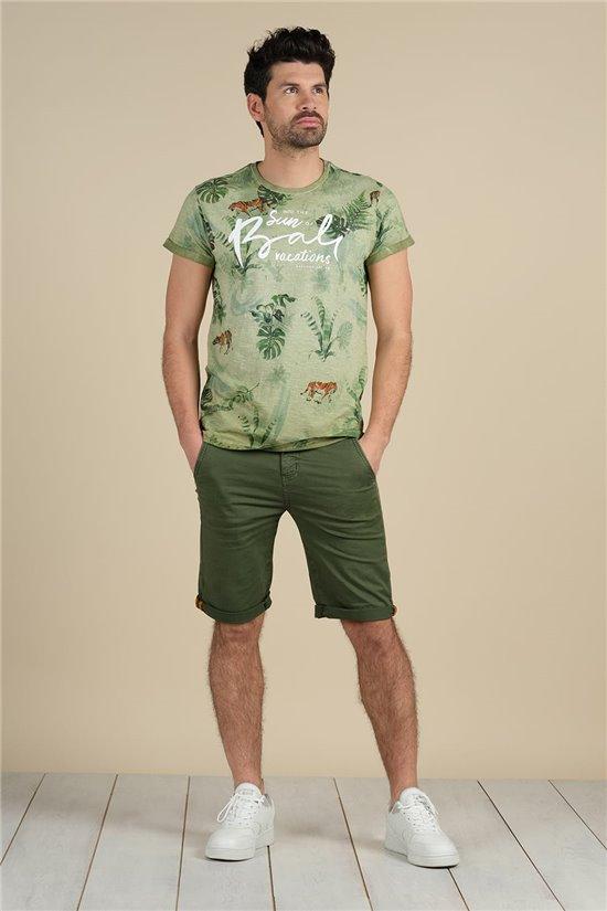 T-Shirt T-Shirt BALI Homme S21108M (59184) - DEELUXE