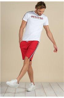 T-Shirt T-Shirt RALF Homme S21113M (59217) - DEELUXE