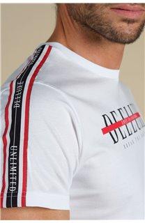 T-Shirt T-Shirt RALF Homme S21113M (59220) - DEELUXE
