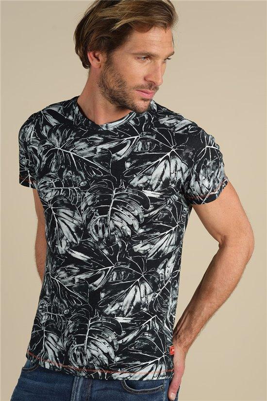 T-Shirt T-Shirt MONSTERA Homme S21117M (59232) - DEELUXE