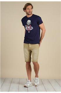 T-Shirt T-Shirt ALOHA Homme S21155M (59439) - DEELUXE
