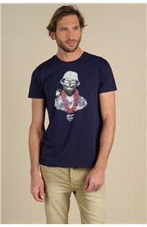 T-Shirt T-Shirt ALOHA Homme S21155M (59440) - DEELUXE