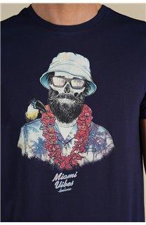 T-Shirt T-Shirt ALOHA Homme S21155M (59441) - DEELUXE