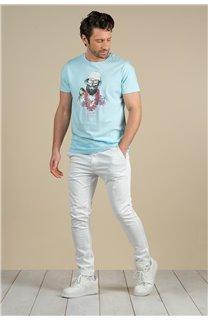 T-Shirt T-Shirt ALOHA Homme S21155M (59443) - DEELUXE