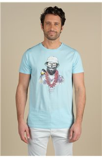 T-Shirt T-Shirt ALOHA Homme S21155M (59444) - DEELUXE