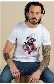 T-Shirt T-Shirt ALOHA Homme S21155M (59446) - DEELUXE