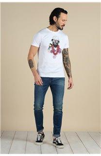 T-Shirt T-Shirt ALOHA Homme S21155M (59447) - DEELUXE
