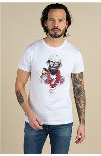 T-Shirt T-Shirt ALOHA Homme S21155M (59448) - DEELUXE