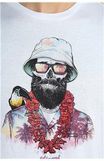 T-Shirt T-Shirt ALOHA Homme S21155M (59449) - DEELUXE