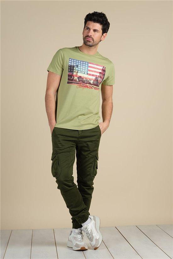 T-Shirt T-Shirt CALI Homme S21169M (59487) - DEELUXE