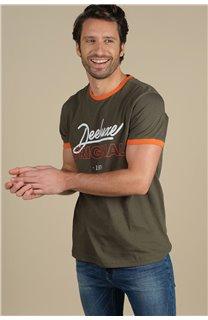 T-Shirt T-Shirt HYLTON Homme S21180M (59530) - DEELUXE