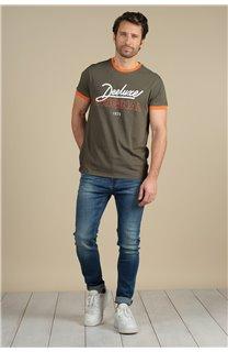 T-Shirt T-Shirt HYLTON Homme S21180M (59531) - DEELUXE
