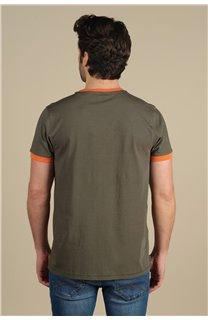 T-Shirt T-Shirt HYLTON Homme S21180M (59533) - DEELUXE