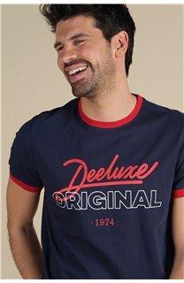 T-Shirt T-Shirt HYLTON Homme S21180M (59535) - DEELUXE