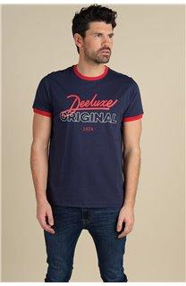 T-Shirt T-Shirt HYLTON Homme S21180M (59536) - DEELUXE