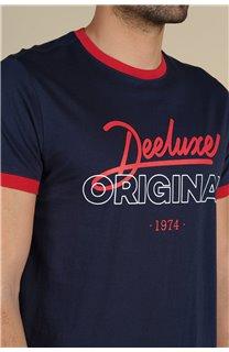 T-Shirt T-Shirt HYLTON Homme S21180M (59537) - DEELUXE