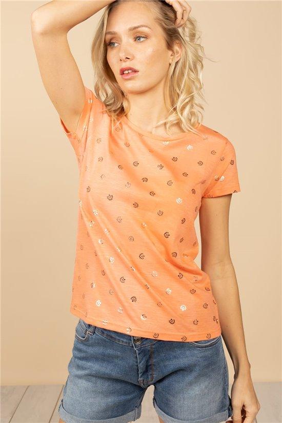 T-Shirt T-Shirt MAYA Femme S21115W (59704) - DEELUXE