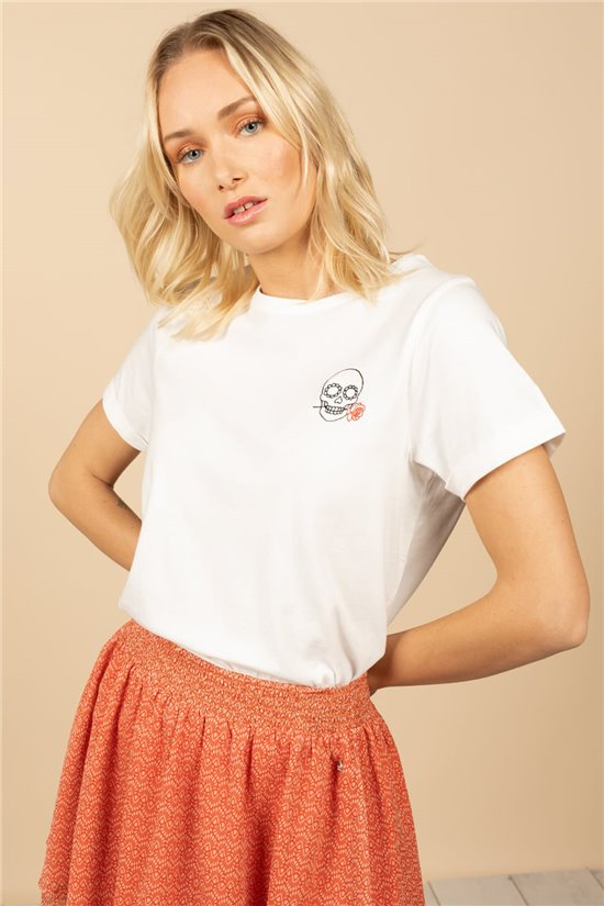 T-Shirt T-Shirt ROSE Femme S21146W (59724) - DEELUXE