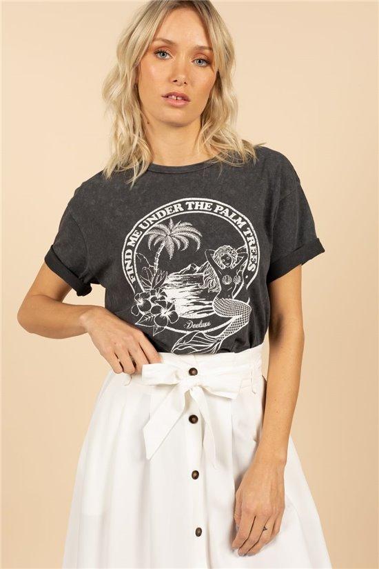 T-Shirt T-Shirt SIREN Femme S21151W (59743) - DEELUXE