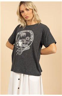 T-Shirt T-Shirt SIREN Femme S21151W (59745) - DEELUXE
