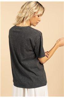 T-Shirt T-Shirt SIREN Femme S21151W (59746) - DEELUXE