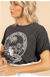 T-Shirt T-Shirt SIREN Femme S21151W (59747) - DEELUXE
