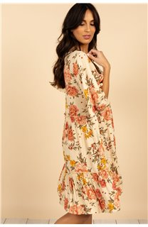 Robe Robe MEDELINE Femme S21215W (59805) - DEELUXE