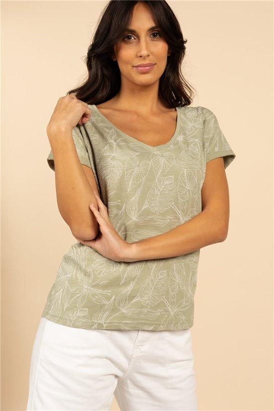 T-Shirt T-Shirt KIALA Femme S21111W (60040) - DEELUXE