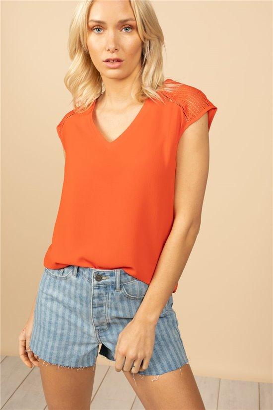 T-Shirt T-Shirt VAL Femme S21119W (60054) - DEELUXE