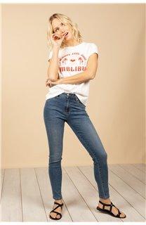 T-Shirt T-Shirt FEELGOOD Femme S21143W (60070) - DEELUXE